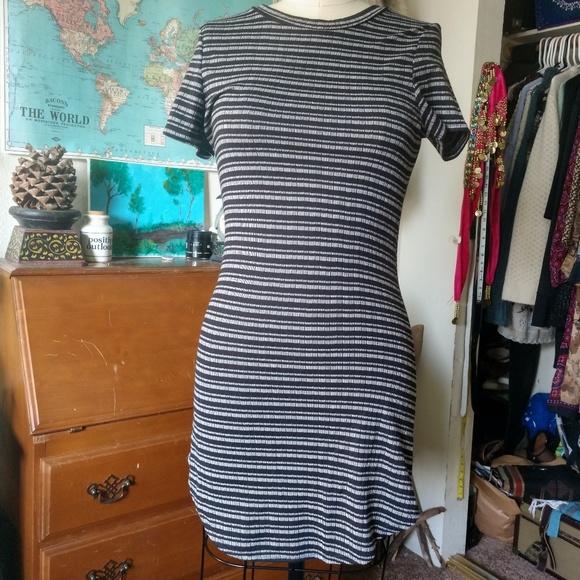 CaCia Dresses & Skirts - Black and Grey Tunic/Dress by CaCia